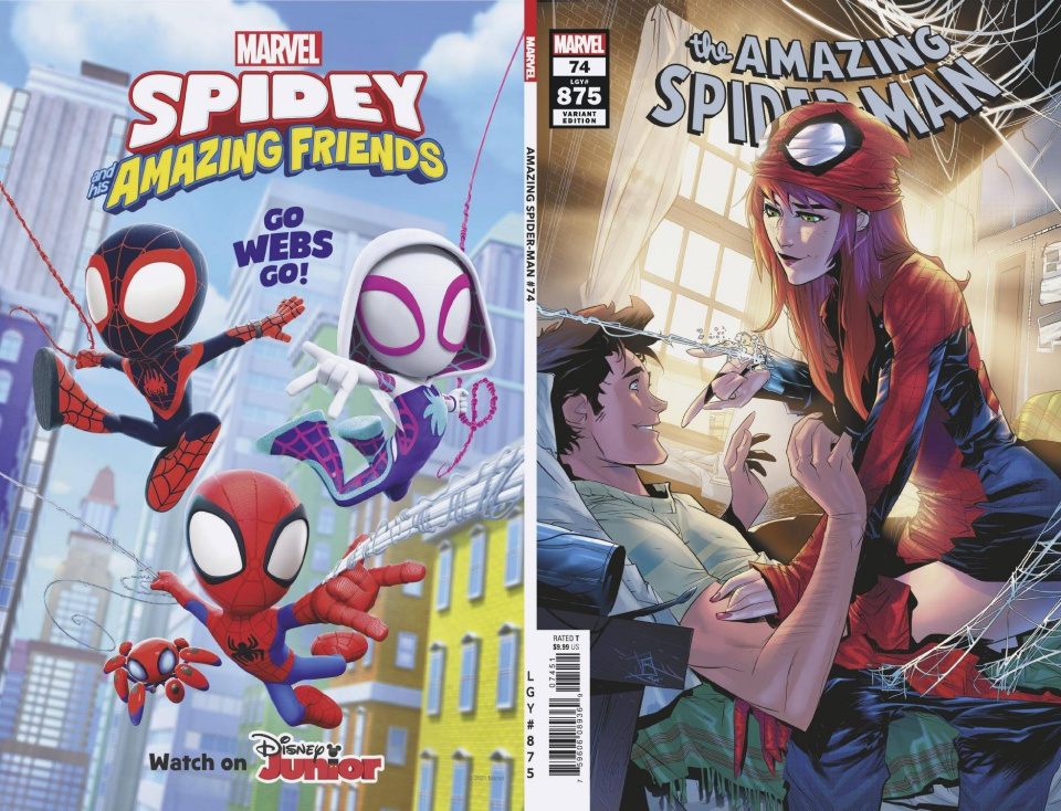 The Amazing Spider-Man #74 (Vicentini Cover)