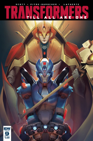The Transformers: Till All Are One #9