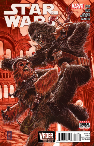 Star Wars #14 (Brooks 2nd Printing)