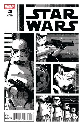 Star Wars #21 (Aja B&W Cover)