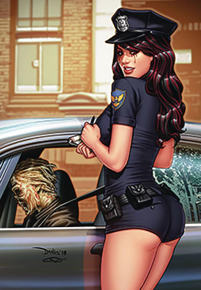 Grimm Tales of Terror #9 (Santacruz Cover)