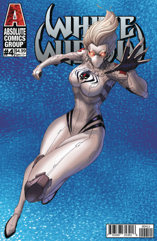 White Widow #4 (Tyndal Holographic Cover)