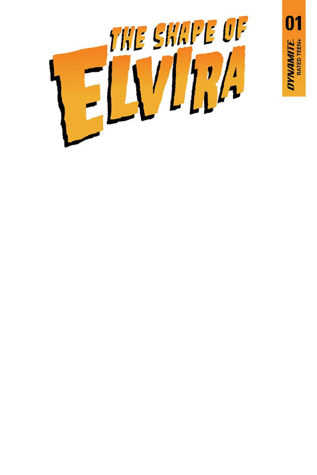 The Shape of Elvira #1 (Blank Authentix Cover)