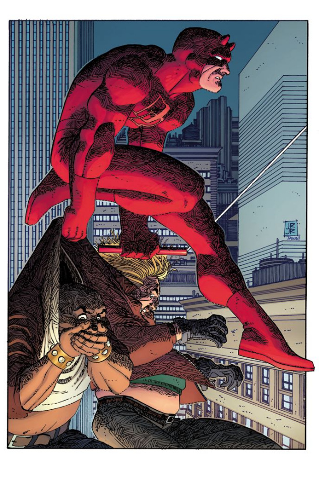 Daredevil #4 (JRJR Hidden Gem Cover)