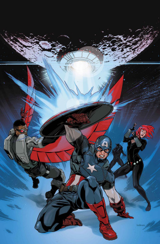 Avengers: The Shards of Infinity #1 (Andrasofszky Cover)