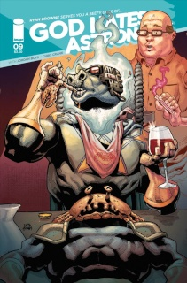God Hates Astronauts #9 (Stegman Cover)