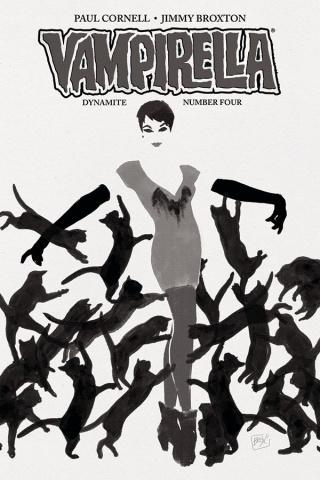 Vampirella #4 (30 Copy Broxton B&W Cover)