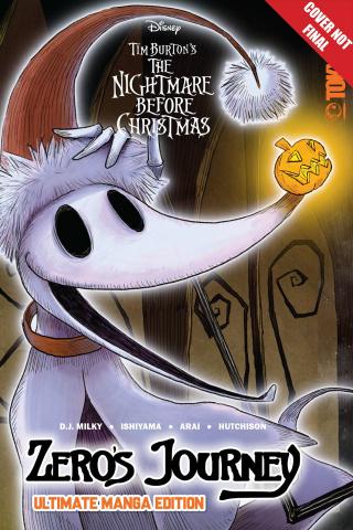 The Nightmare Before Christmas: Zero's Journey (Ultimate Manga Edition)