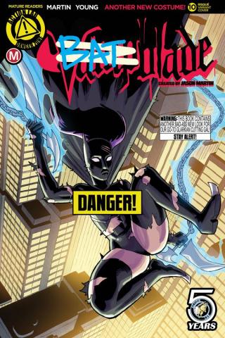 Vampblade #10 (Winston Young Risque Cover)