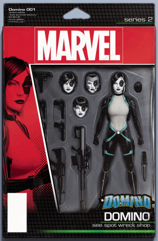 Domino #1 (Christopher Action Figure Cover)