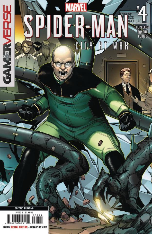 Spider-Man: City at War #4 (Bandini 2nd Printing)
