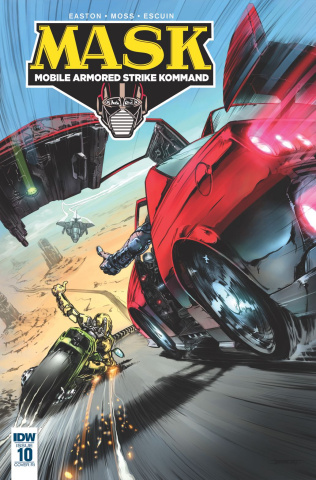 M.A.S.K.: Mobile Armored Strike Kommand #10 (10 Copy Cover)