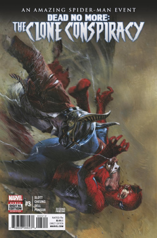 The Clone Conspiracy #3 (2nd Printing Dell'otto Cover)