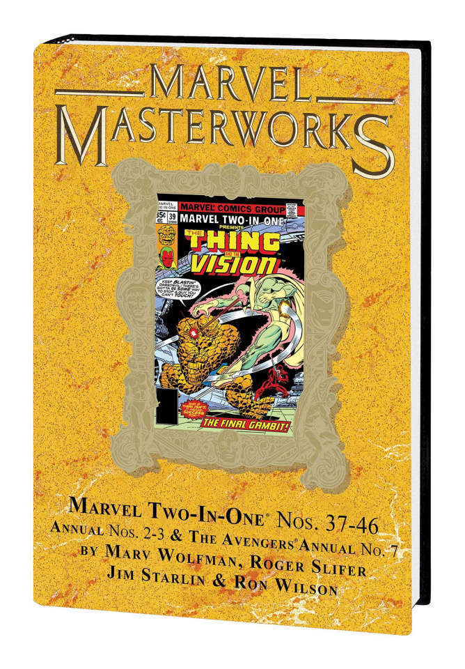 Marvel Two-in-One Vol. 4 (Marvel Masterworks)