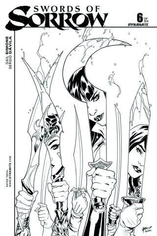 Swords of Sorrow #6 (20 Copy Lupacchino Cover)