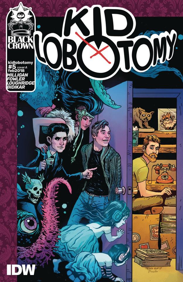 Kid Lobotomy #5 (Fowler Cover)