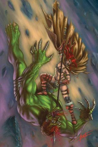 Mars Attacks / Red Sonja #3 (30 Copy Strati Virgin Cover)