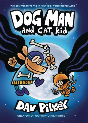 Dog Man Vol. 4: Dog Man & Cat Kid