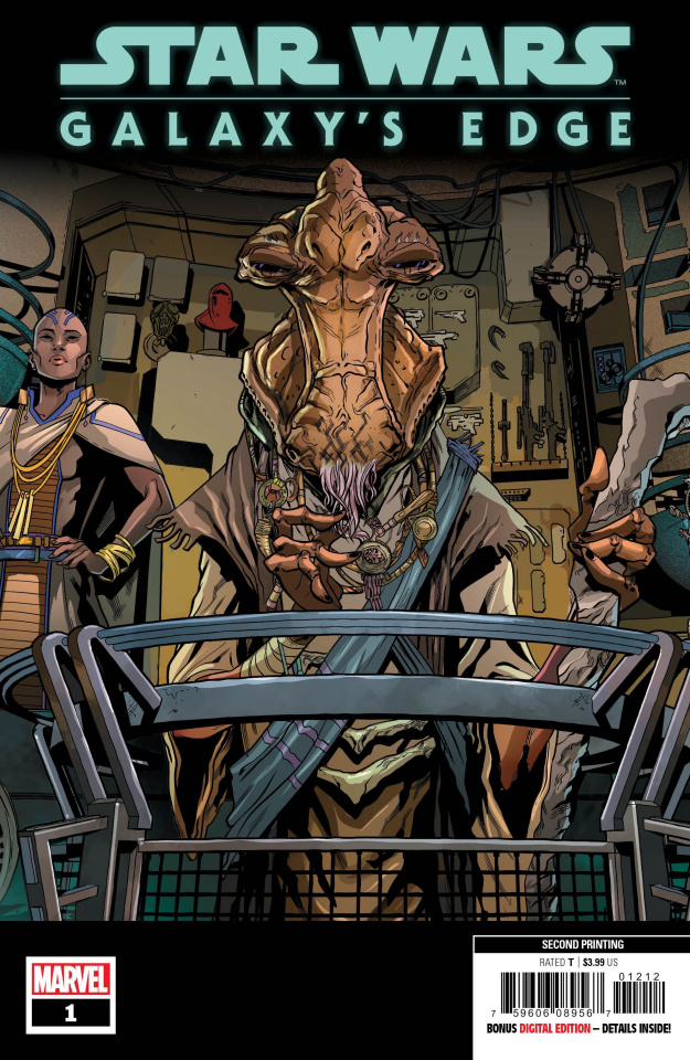 Star Wars: Galaxy's Edge #1 (Sliney 2nd Printing)