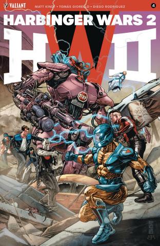 Harbinger Wars 2 #4 (Jones Cover)
