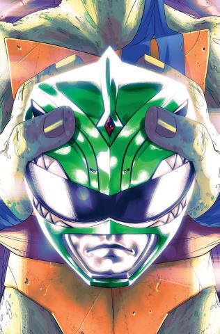 Power Rangers / Teenage Mutant Ninja Turtles #2 (25 Copy Cover)