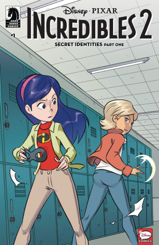 Incredibles 2: Secret Identities #1 (Claudio-Vinci Cover)