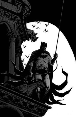 Batman: Black & White #4 (Becky Cloonan Cover)
