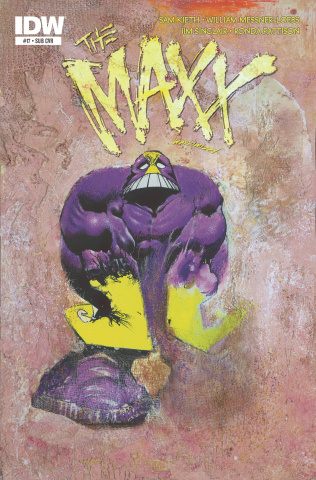 The Maxx: Maxximized #17 (Subscription Cover)
