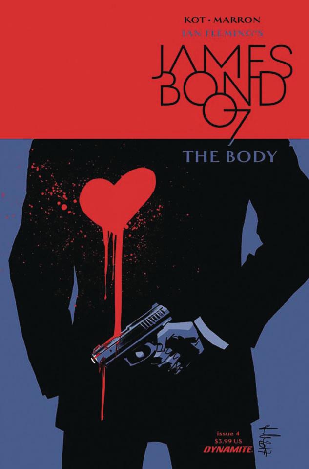 James Bond: The Body #4 (Casalanguida Cover)