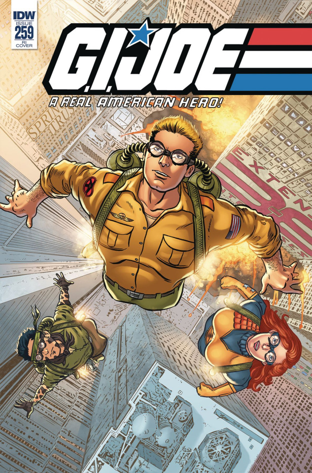 G.I. Joe: A Real American Hero #259 (10 Copy Sullivan Cover)