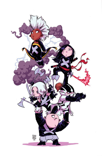 Uncanny X-Force #1 (Young Cover)