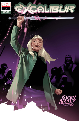 Excalibur #7 (Oliver Gwen Stacy Cover)