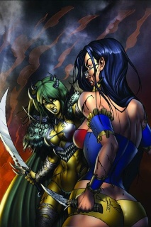 Grimm Fairy Tales #56 (Qualano Cover)