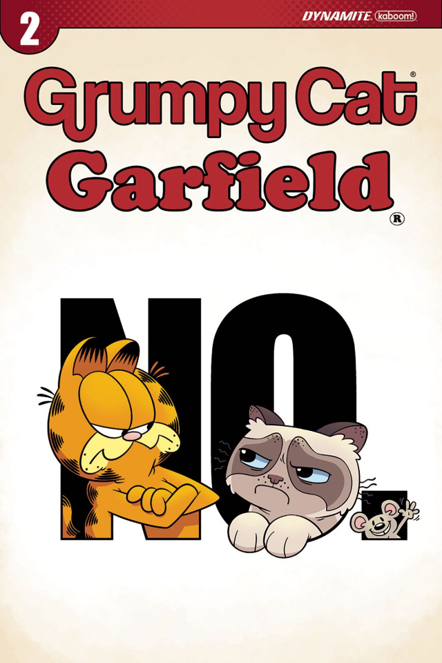 Grumpy Cat / Garfield #2 (Hirsch Cover)