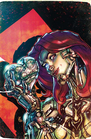 Cyborg #7 (Variant Cover)