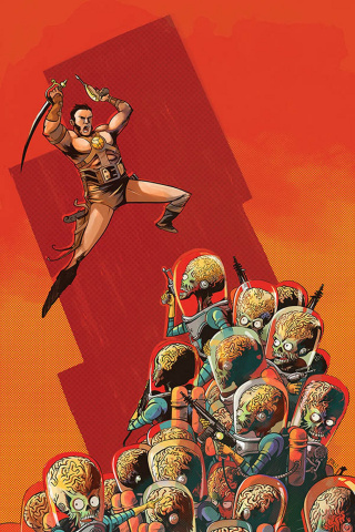 Warlord of Mars Attacks #5 (30 Copy Piriz Virgin Cover)