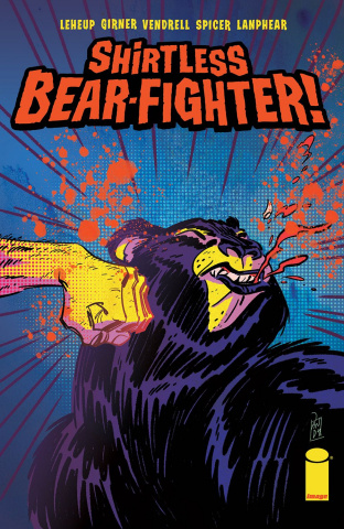 Shirtless Bear-Fighter! #1 (Suriano Cover)