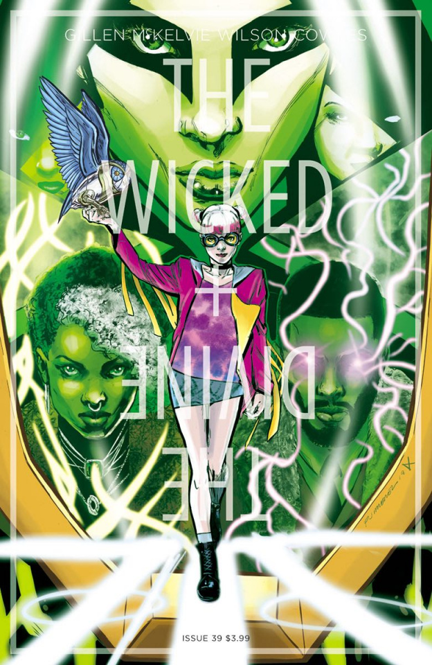 The Wicked + The Divine #39 (Jimenez & Cunniffe Cover)