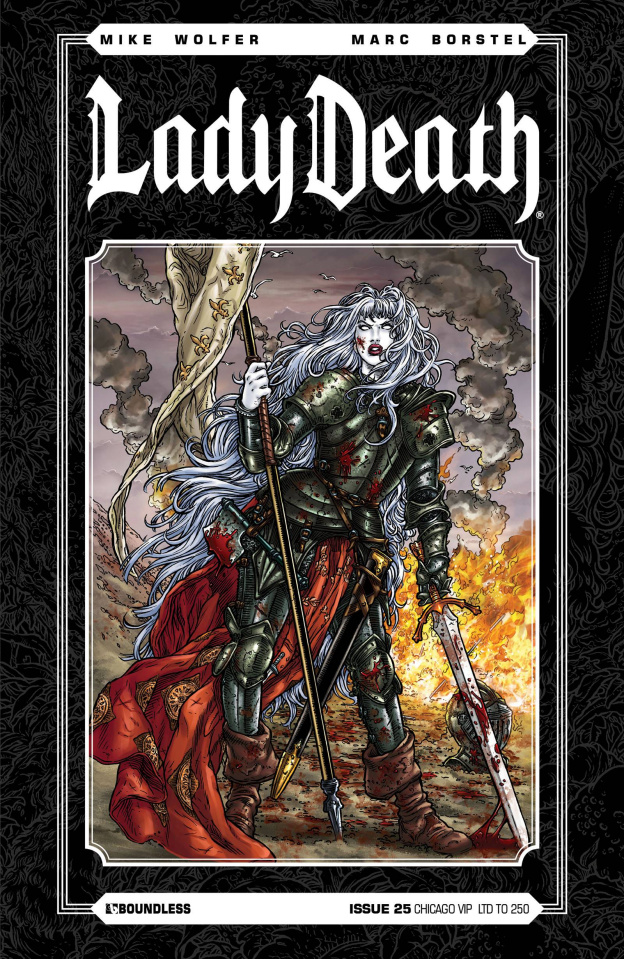 Lady Death #25 (Chicago VIP Cover)