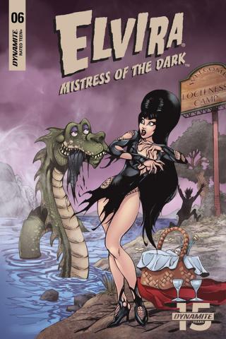 Elvira: Mistress of the Dark #6 (5 Copy Castro Cover)