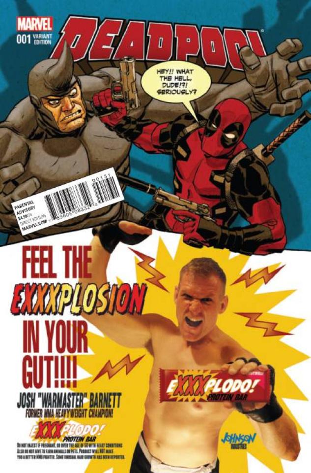 Deadpool #1 (Johnson Candy Cover)