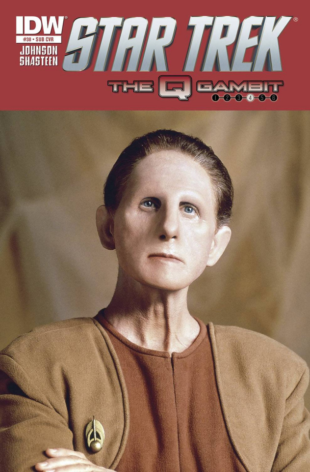 Star Trek #38 (Subscription Cover)