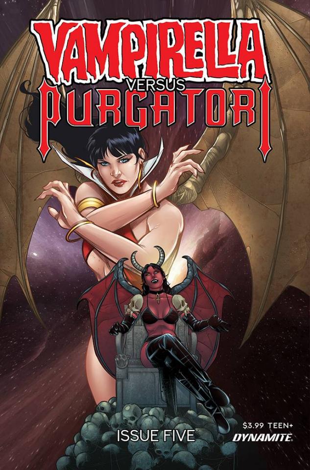 Vampirella vs. Purgatori #5 (Premium Sarraseca Cover)