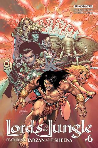 Lords of the Jungle #6 (Castro Cover)