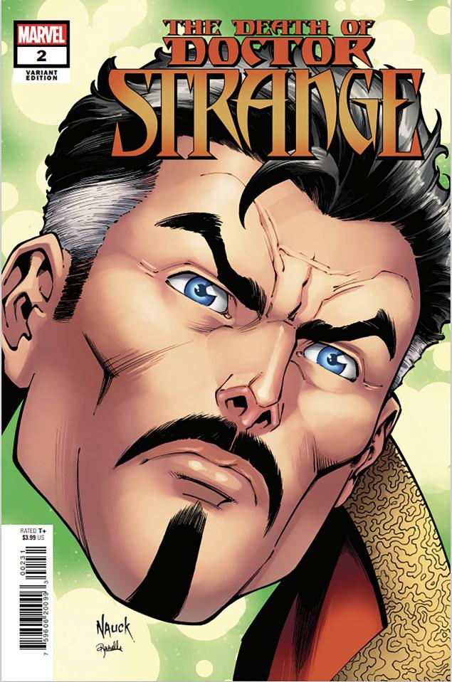 The Death of Doctor Strange #2 (Nauck Headshot Cover)