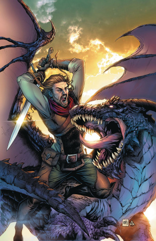 Dragonsblood #1 (Krome Cover)