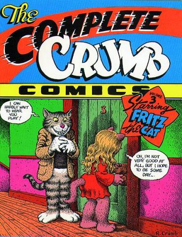 The Complete Crumb Comics Vol. 3: Fritz the Cat
