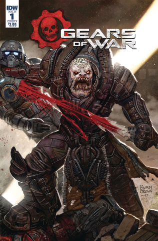 Gears of War: The Rise of RAAM #1 (Brown Cover)