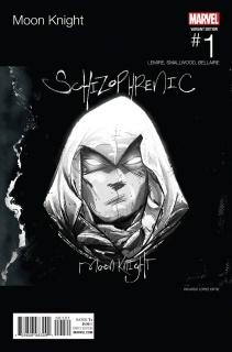 Moon Knight #1 (Ortiz Hip Hop Cover)