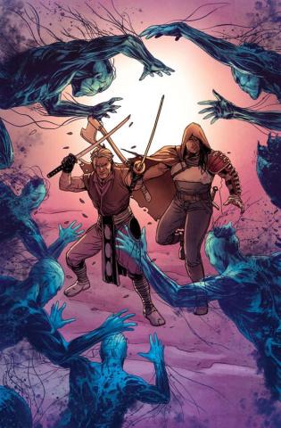 Ninjak #21 (Laming Cover)